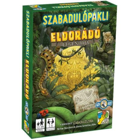 dV Giochi Szabadulópakli: Eldorádó legendája szabadulószoba társasjáték