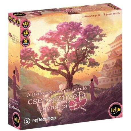 IELLO A tízévente virágba boruló cseresznyefa legendája társasjáték