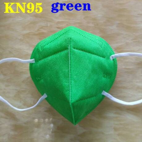 KN95 FFP2 maszk szájmaszk színes - fehér