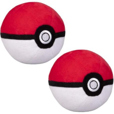 Pokémon pokélabda plüss kulcstartó