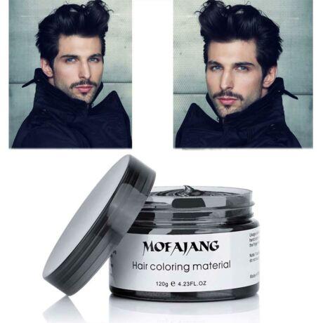Mofajang hajszínező hajfestő haj wax hajwax hajfesték - fekete