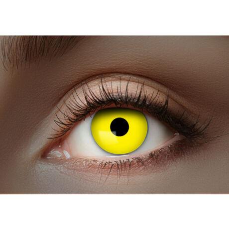 Eyecather színes kontaktlencse - 1 hónapos, UV sárga