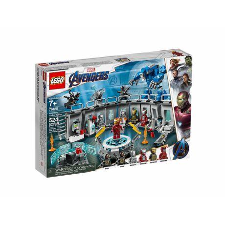 LEGO Super Heroes 76125 - Vasember Páncélcsarnoka