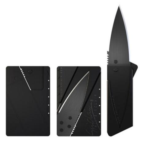 Bankkártya méretű bicska kés