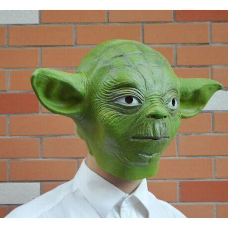 Star Wars Yoda halloween farsangi maszk