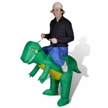 felfujhato dinoszaurusz dino lovaglo jelmez
