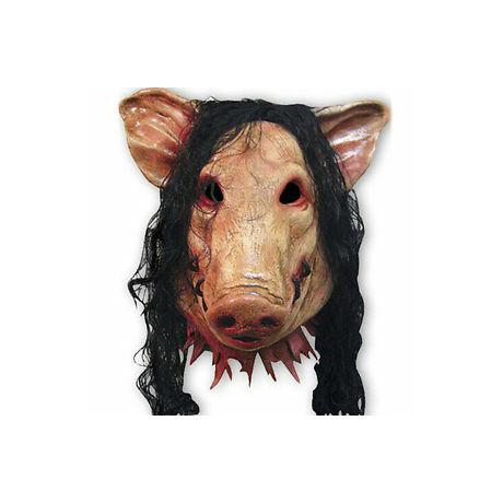 SAW Fűrész malac Jigsaw disznó halloween, farsangi maszk