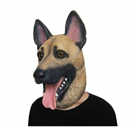 Kutya német juhászkutya németjuhász halloween, farsangi maszk