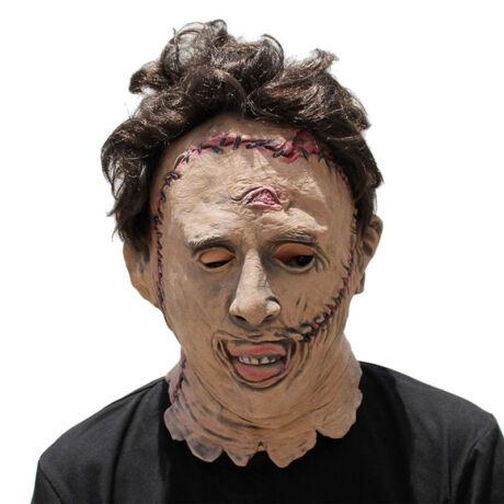 Texasi láncfűrészes horror halloween, farsangi maszk