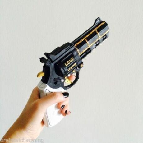 Harley Quinn halloween farsang jelmez kiegészítő - pisztoly