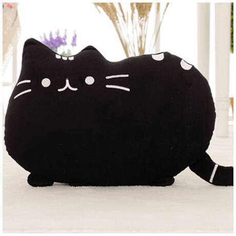 pusheen pluss cica parna fekete