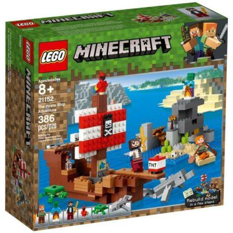 LEGO Minecraft 21152 - A kalózhajós kaland