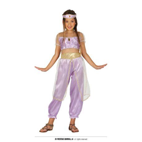Aladdin Jázmin hercegnő halloween farsangi jelmez szett (méret:M)