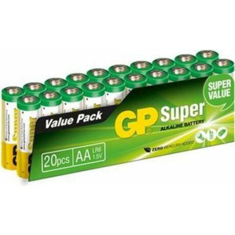GP Super Alkaline LR6 (AA) elem - 20db-os kiszerelés