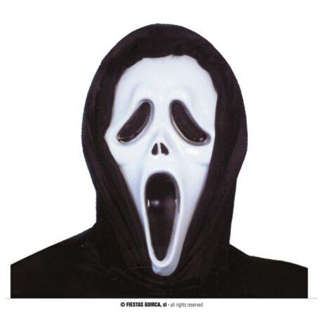 Halloween farsangi jelmez kiegészítő - Sikoly mask