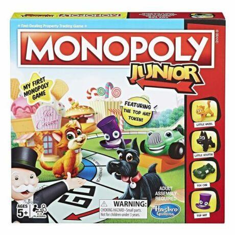 Hasbro Monopoly Junior társasjáték - új kiadás