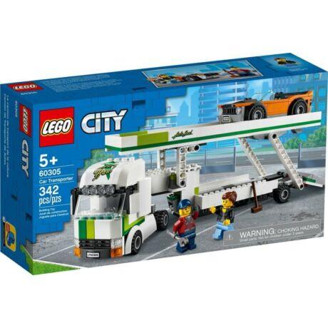 LEGO City 60305 - Autószállító