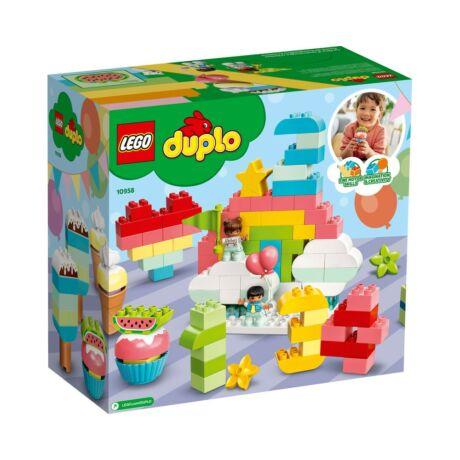 LEGO DUPLO 10958 - Kreatív 200 alkatrészes kocka készlet - születésnapi zsúr
