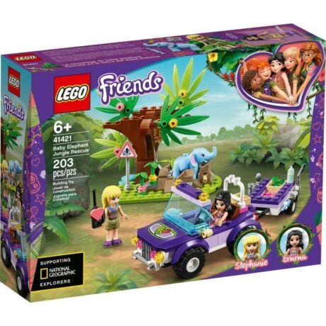 LEGO Friends 41421 - Kiselefánt mentő akció