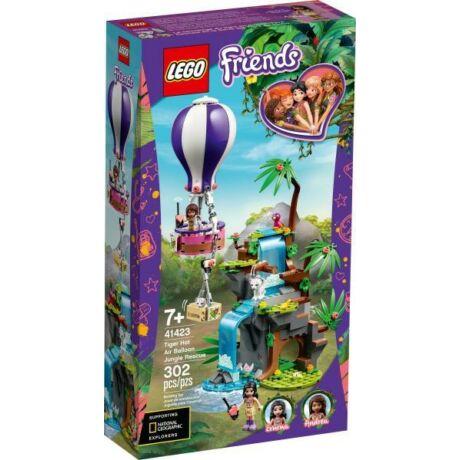LEGO Friends 41423 - Hőlégballonos tigris mentő akció