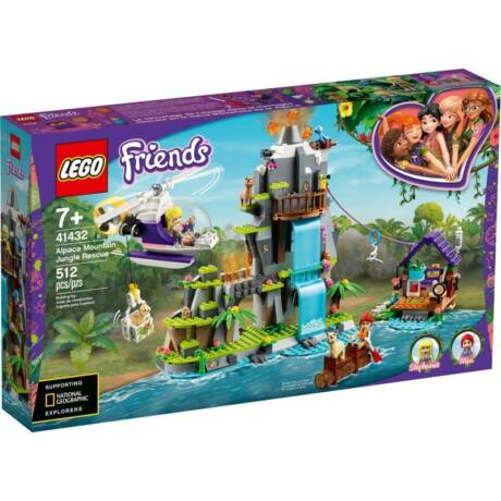 LEGO Friends 41432 - Hegyi alpaka mentő akció