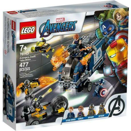 LEGO Marvel Super Heroes 76143 - Bosszúállók teherautós üldözés