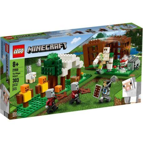 LEGO Minecraft - A Fosztogató őrtorony