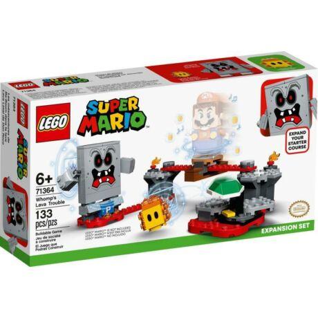 LEGO Super Mario 71364 - Whomp lávagalibája