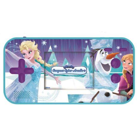 Lexibook Jégvarázs Frozen kézi játékkonzol, 150 játékkal