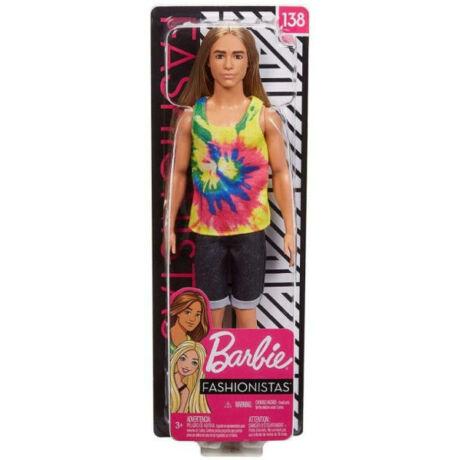 Mattel Barbie - Fashionistas - Ken hosszú hajú baba (GHW66)