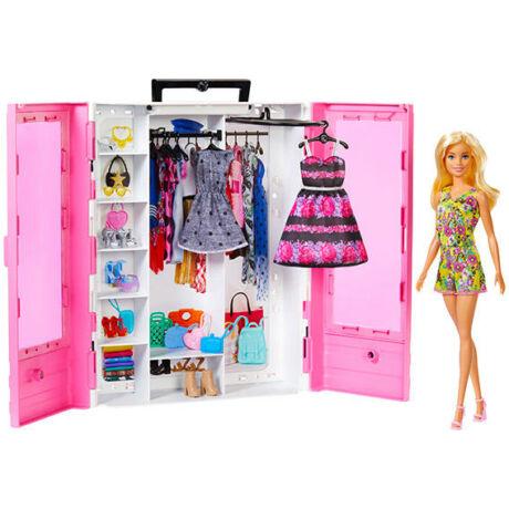 Mattel Barbie - Fashionistas ruhásszekrény babával