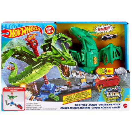 Mattel Hot Wheels Sárkánytámadás pályaszett
