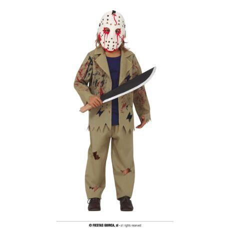 Péntek 13 Jason halloween farsangi gyerek jelmez (méret:L)