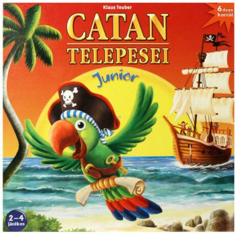 Piatnik Catan Telepesei - Junior társasjáték