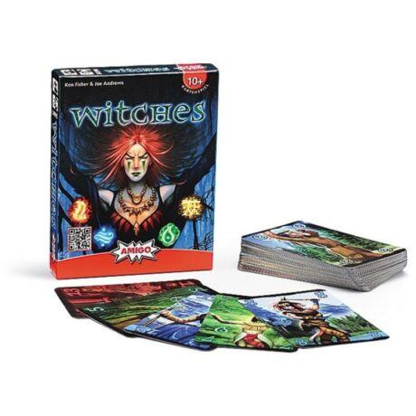 Piatnik Witches - Boszorkányok kártyajáték, társasjáték