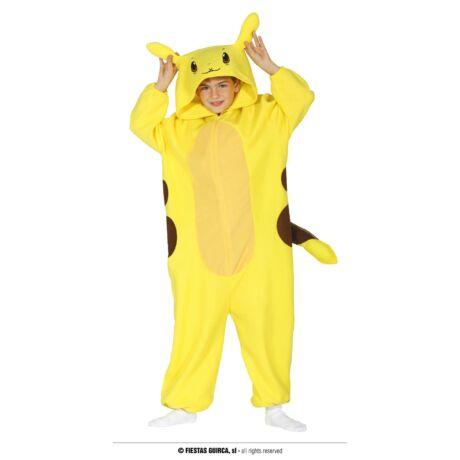 Pokémon Pikachu halloween farsangi gyerek jelmez (méret:M)