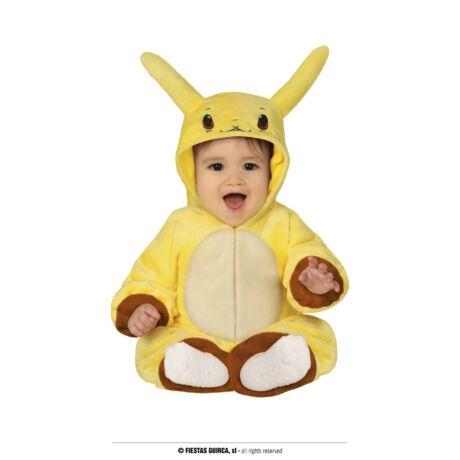 Pokémon Pikachu halloween farsangi jelmez szett - gyerek (méret:S)