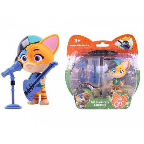 Simba Toys 44 csacska macska Lampo játékfigura gitárral