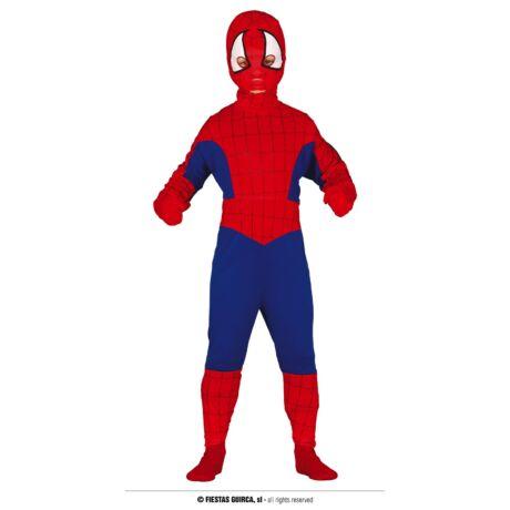 Spiderman pókember halloween farsangi gyerek jelmez (méret:L)