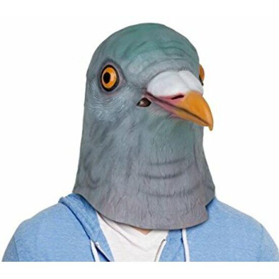 Galamb madár halloween, farsangi, maszk