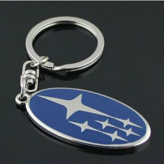 Subaru kulcstartó
